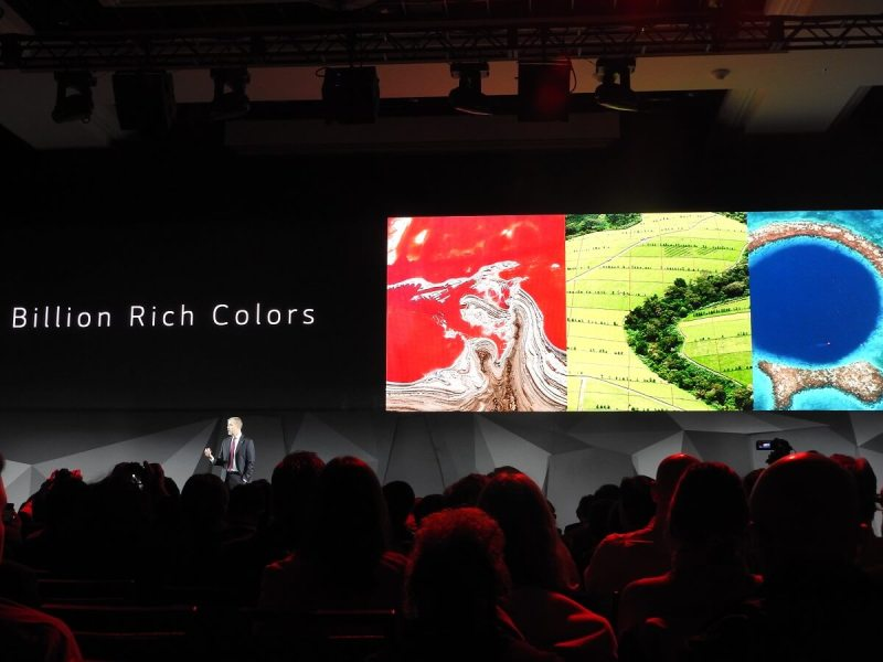 LG has Nano Cell technology for its latest TVs.