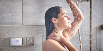 Moen's smart shower remembers your perfect water temperature