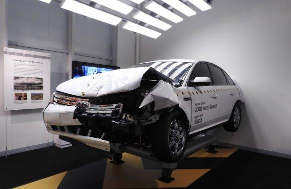 Computer History Museum software exhibit features car crash ...