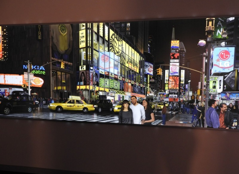 This image of Times Square was created entirely in Adobe Photoshop.