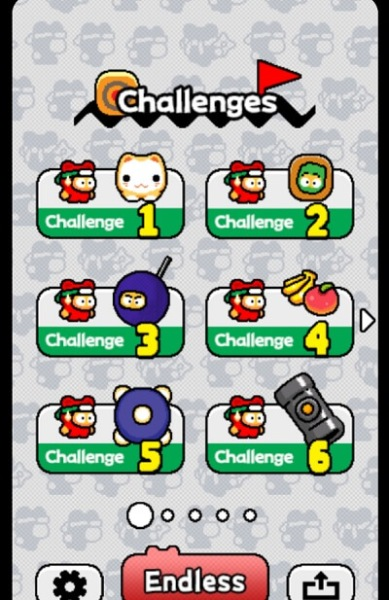 There are six mini games in Ninja Spinki Challenges