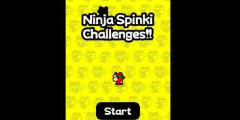 Flappy Bird creator releases extremely difficult Ninja Spinki Challenges mobile game