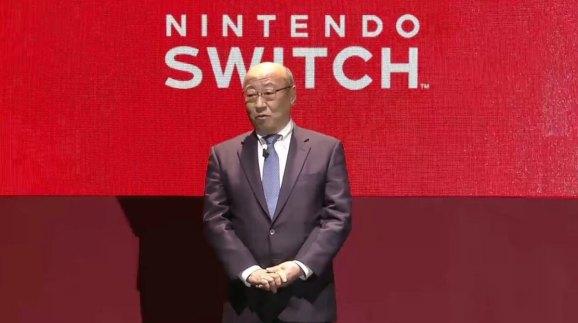 Nintendo President Tatsumi Kimishima.
