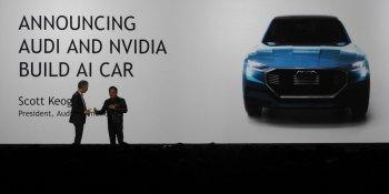 Nvidia partners with Audi to build AI cars