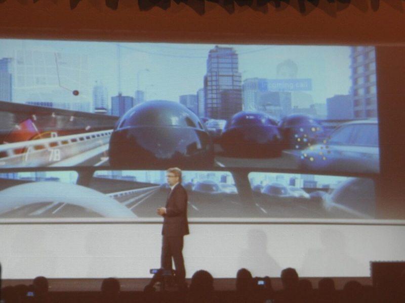 Panasonic concept car at CES 2017.
