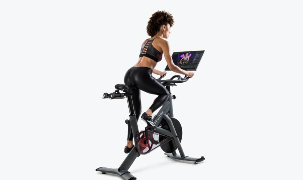 Peloton's commercial bike.