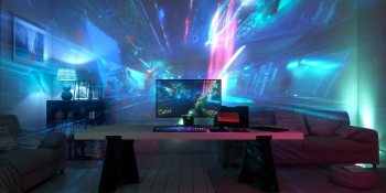Razer's Ariana projects game images that cover your whole wall
