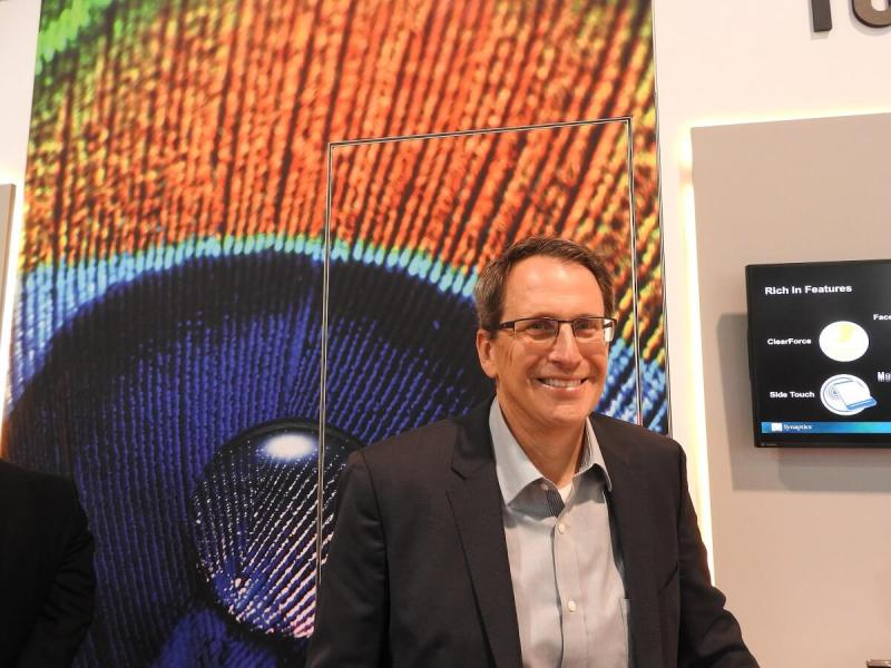 Rick Bergman is CEO of Synaptics, the maker of touchscreen modules and other interface sensors.