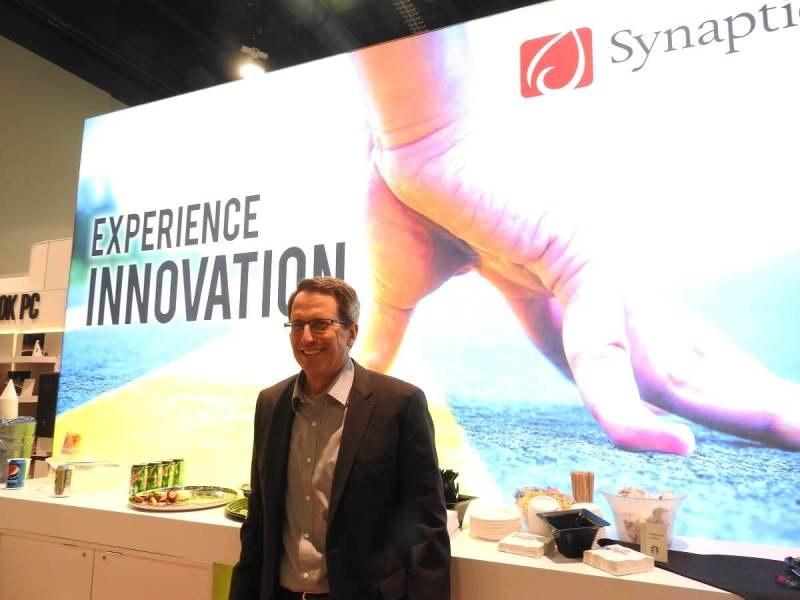 Rick Bergman, CEO of Synaptics.