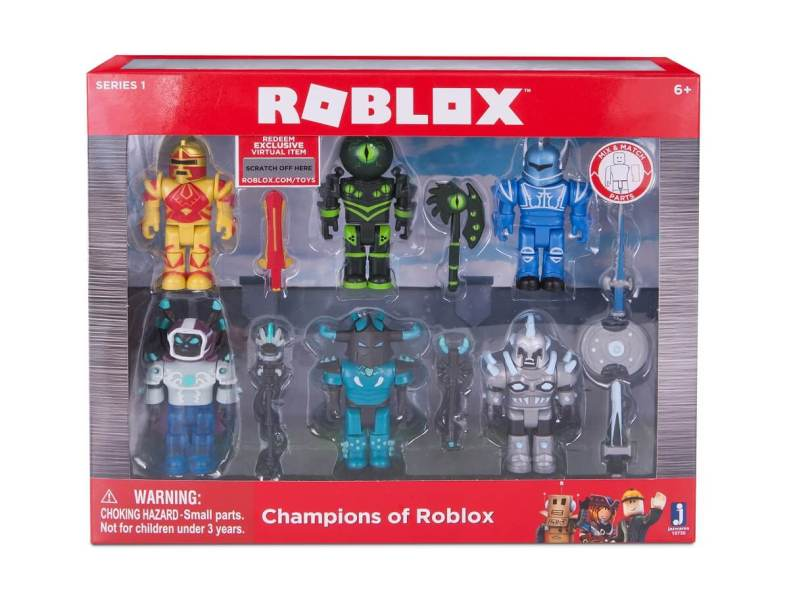 Roblox toys are based on user-generated games.