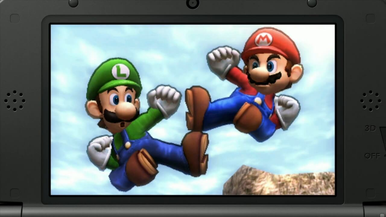 Super Smash Bros. for Nintendo 3DS in action.