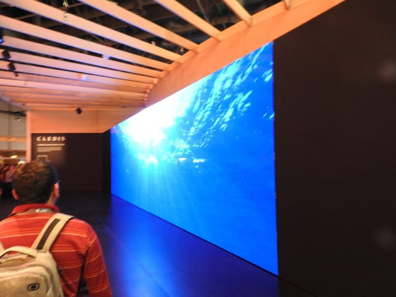Sony's Cledis TV at CES 2017