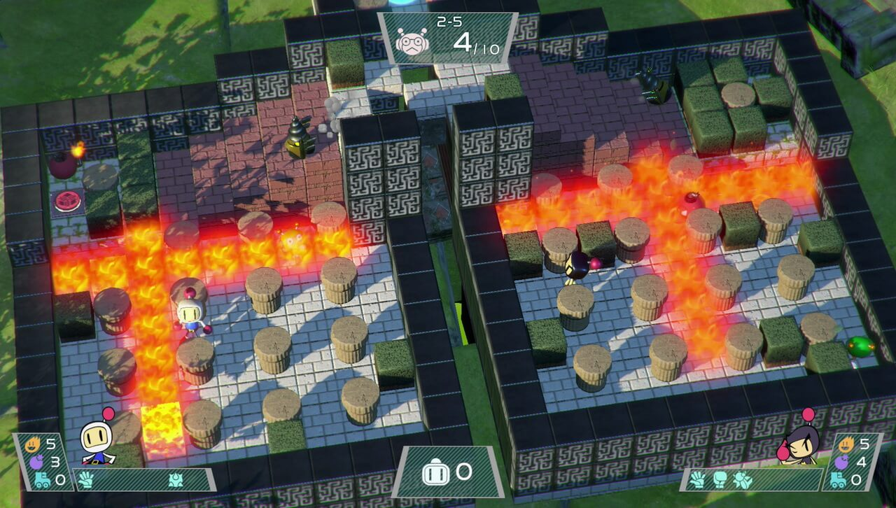 Things get a little explosive in the newest Bomberman title.