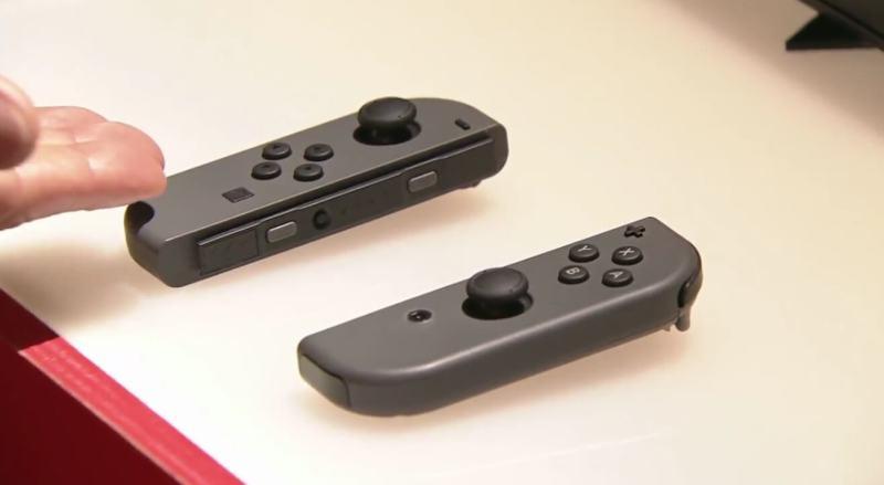 Nintendo Switch Joy Con controller.