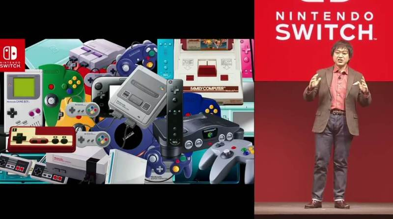 Nintendo Switch owes its DNA to many past Nintendo devices.