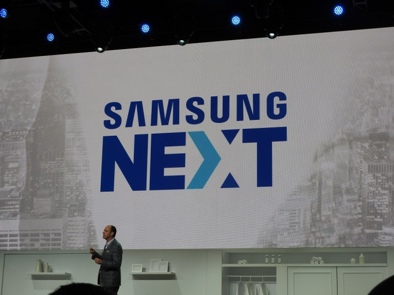 Tim Baxter of Samsung at CES 2017.