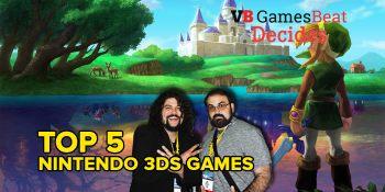 The Top 5 3DS games? GamesBeat Decides