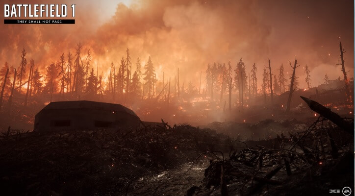 Verdun Heights map in Battlefield 1 expansion, They Shall Not Pass.