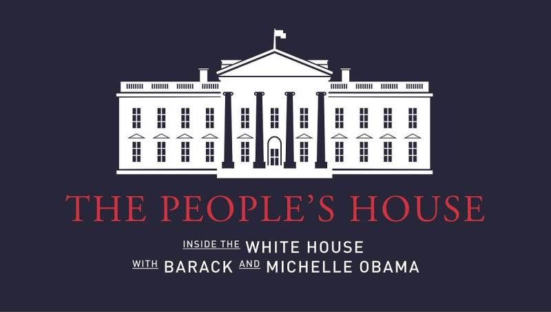 The People's House is what the Obamas call the White House.