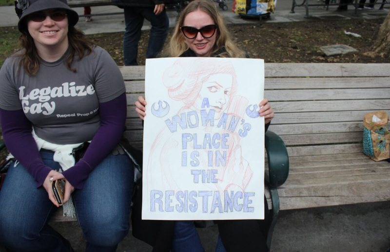 This Is What Democracy 100000 Looks >> Bay Area Women's Marches draw more than 100,000 | VentureBeat