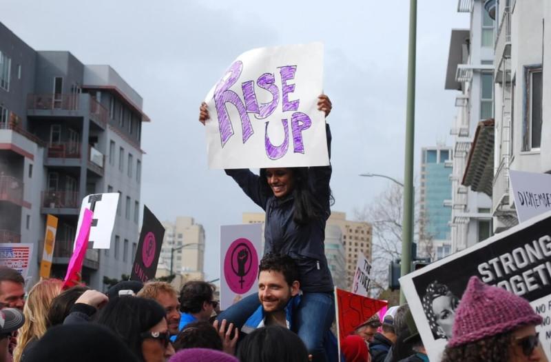 Women's March in Oakland, Calif.