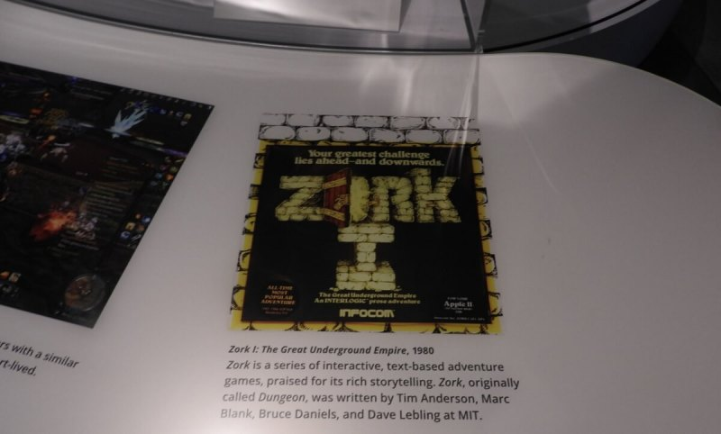 Zork was one of the original interactive fiction computer games.