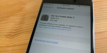 Apple releases iOS 10.3 public beta 3