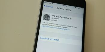 Apple releases iOS 10.3 public beta 4