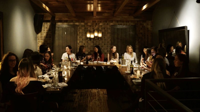 Femtech dinner in Washington D.C.