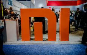 Xiaomi's booth at CES 2017.