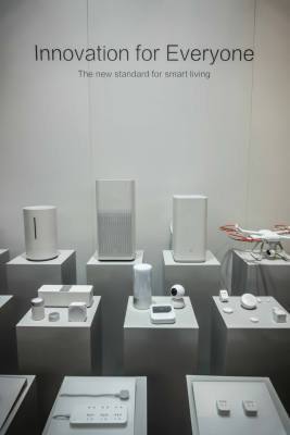 A lineup of products produced or sold by Xiaomi in markets it operates in.