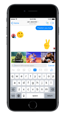 Friends Day Messenger Screenshot #2