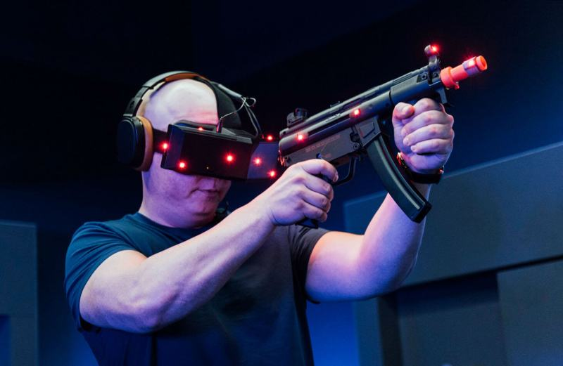Playing John Wick in VR.