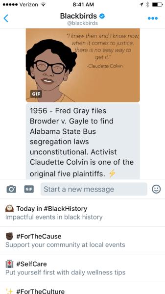 @blackbirds bot on Twitter