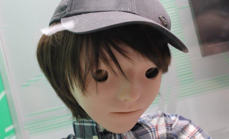 Kaspar, a robot to help autistic children.