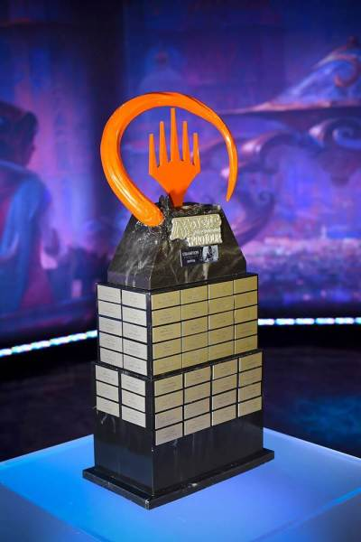A Magic: Pro Tour trophy