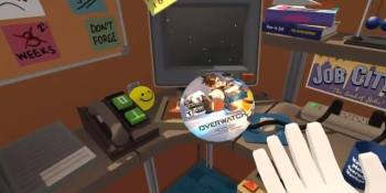 Watch what happens when Overwatch meets VR's Job Simulator