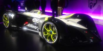 Meet Robocar, the stunning self-driving electric race car by a 'Tron' designer