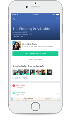 Facebook has launched its Community Help tool within Safety Check.