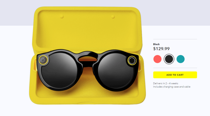 Spectacles: Buy online now