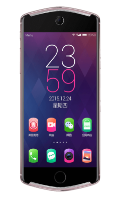 The front of the Meitu T8 smartphone.