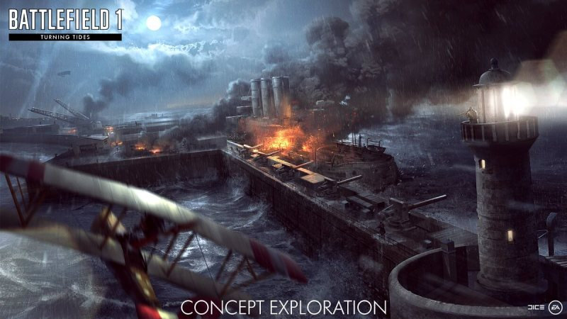 Battlefield 1's Turning Tides expansion.