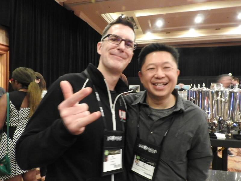 Bill Rosemann and Jay Ong of Marvel at the DICE Summit.