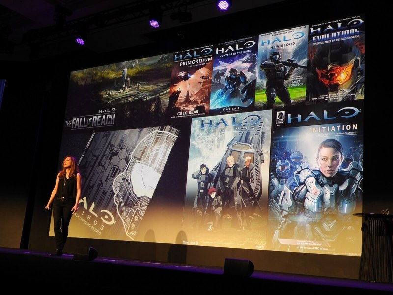 Bonnie Ross says 343 Industries controls all of Halo's various threads, from merchandise to books.