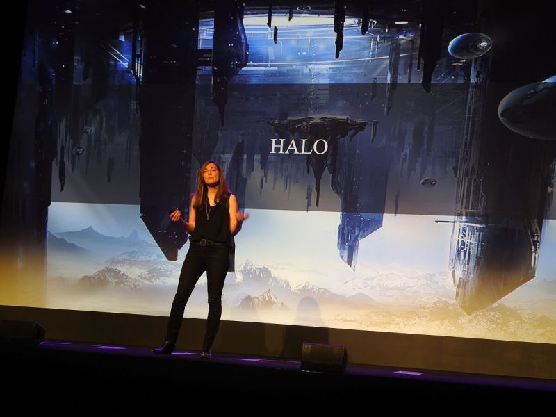 Bonnie Ross says fans help shape the Halo universe too.