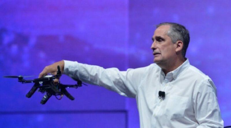Brian Krzanich, CEO of Intel