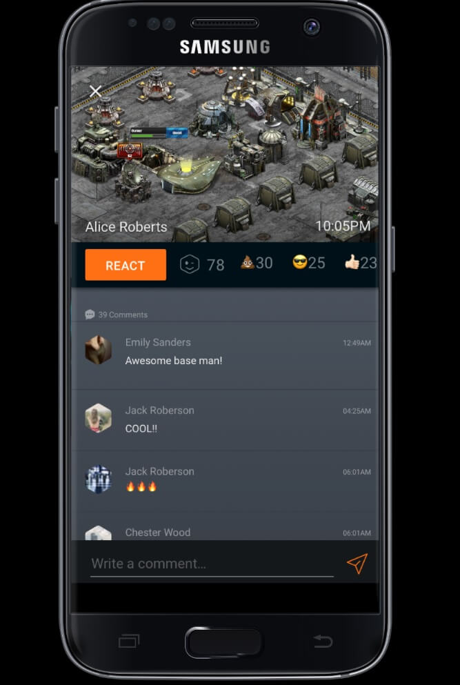 ClanPlay works with Android games.