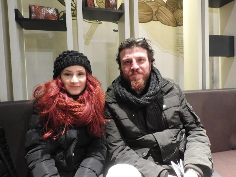 Yunus Ayyildiz and his wife Kubra Sezer Ayyildiz of GameBra.in