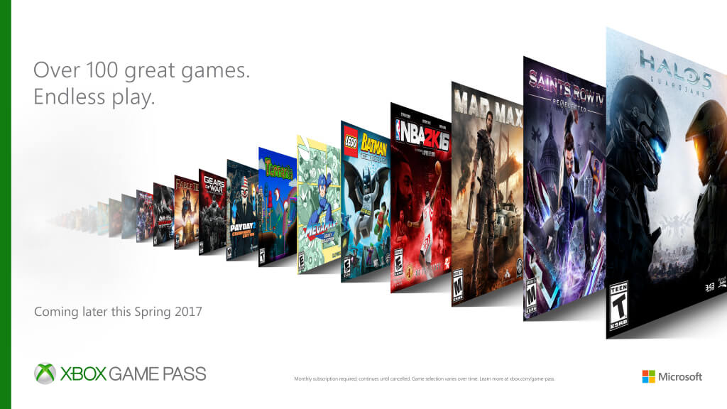 Microsoft wants to hook you up with a massive library for your Xbox One.