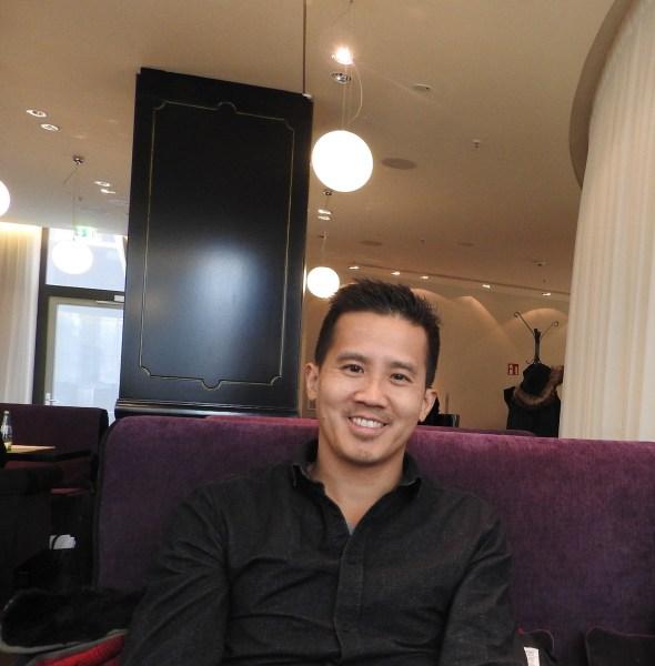 Gary Lin, CEO of Glispa in Berlin.